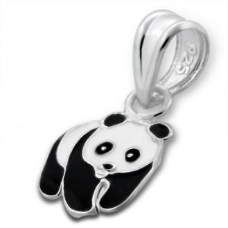 """Dětský přívěsek stříbrný """"Panda"""". Ag 925/1000"""